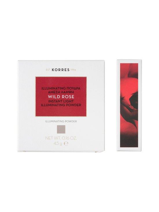 Korres - Wild Rose Illuminating Powder -korostuspuuteri - NOCOL   Stockmann - photo 2