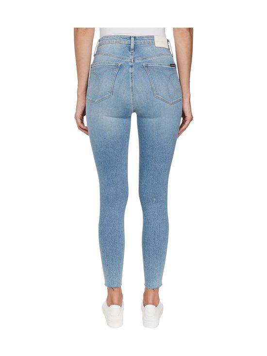 Calvin Klein Jeans - High Rise Super Skinny Ankle -farkut - 1AA DA069 LIGHT BLUE DSTR CUT HEM | Stockmann - photo 3