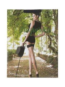 Trasparenze - Jessy stay-up-sukat 20 den - NERO (MUSTA/PUNAINEN)   Stockmann