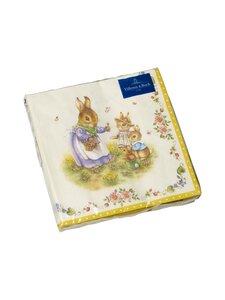 Villeroy & Boch - Easter Accessories Lunch Napkin Family -servetti 33 x 33 cm, 20 kpl - MULTICOLOR | Stockmann