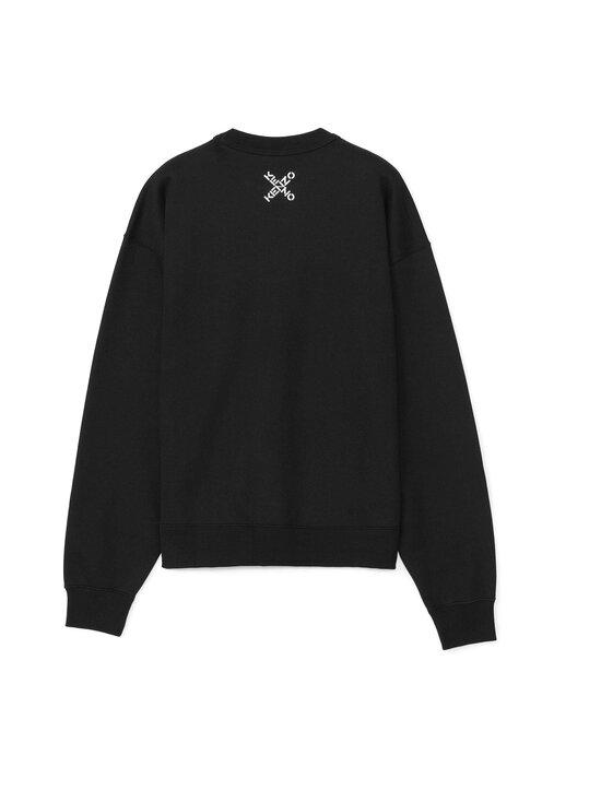 Kenzo - Sport 'Big X' Sweatshirt -collegepaita - 99 - POLY FLEECE KENZO SPORT - BLACK | Stockmann - photo 2