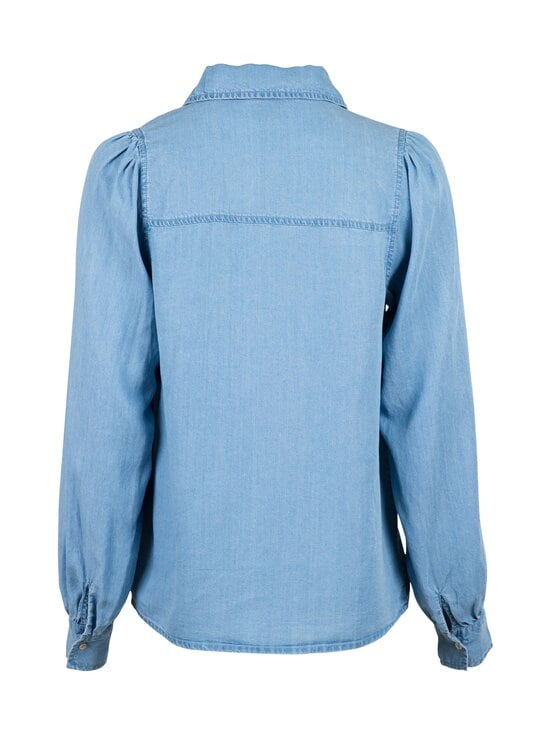 Neo Noir - Amber Chambray Shirt -pusero - 843 VINTAGE BLUE | Stockmann - photo 2