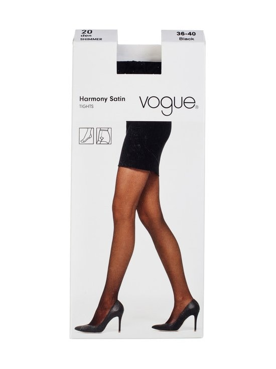 Vogue - Harmony Satin -sukkahousut 20 den - BLACK (MUSTA) | Stockmann - photo 1