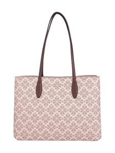 kate spade new york - All Day Spade Flower Coated Canvas Large Tote -laukku - PINK MULTI | Stockmann
