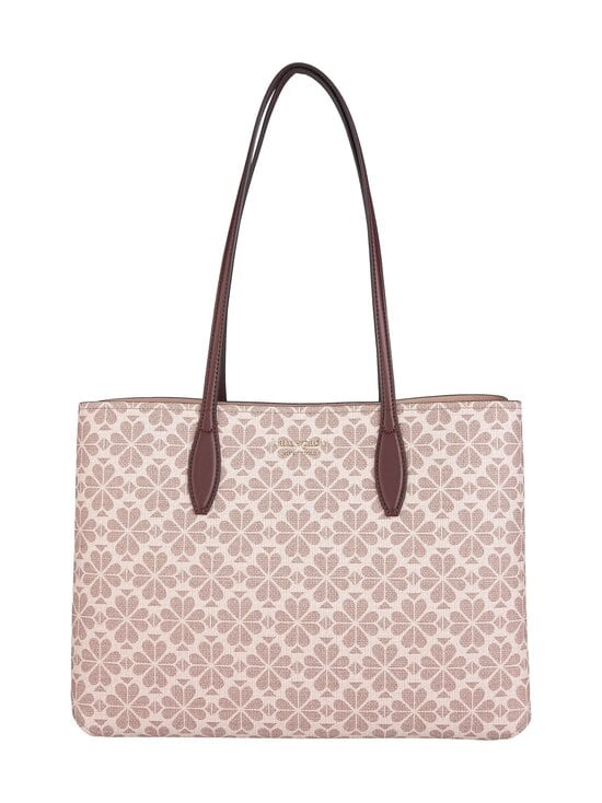 kate spade new york - All Day Spade Flower Coated Canvas Large Tote -laukku - PINK MULTI   Stockmann - photo 1