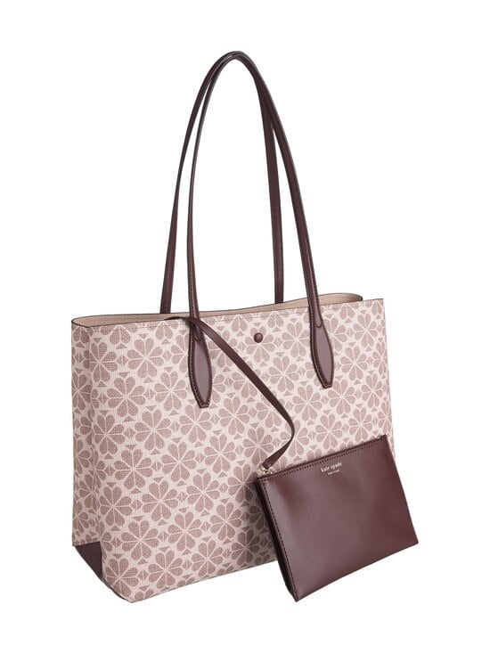 kate spade new york - All Day Spade Flower Coated Canvas Large Tote -laukku - PINK MULTI   Stockmann - photo 2