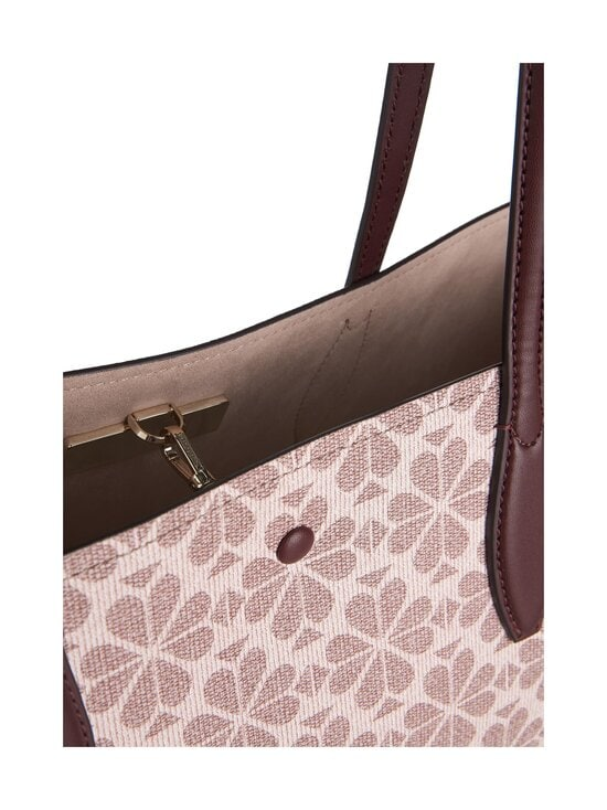 kate spade new york - All Day Spade Flower Coated Canvas Large Tote -laukku - PINK MULTI   Stockmann - photo 3