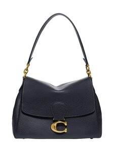 Coach - May Shoulder Bag -nahkalaukku - B4BHP B4/MIDNIGHT NAVY | Stockmann