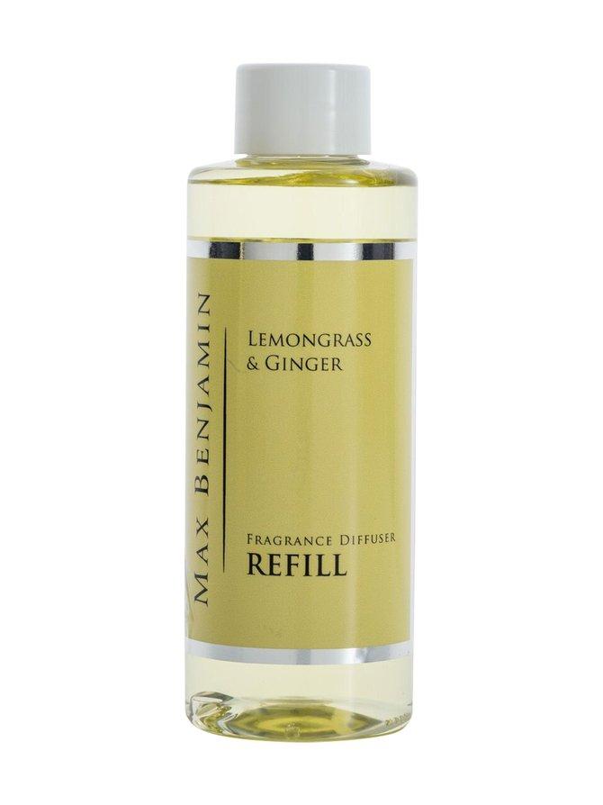 Lemongrass Ginger -huonetuoksun täyttöpullo 150 ml