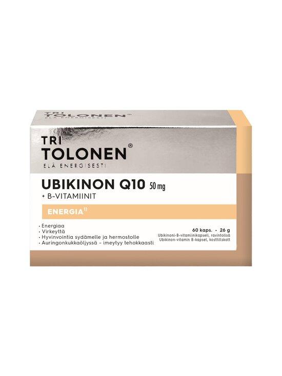 Tri Tolonen - Ubikinon Q10 50 mg + B-Vitamiinit 60 kaps - null | Stockmann - photo 1