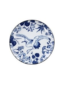 Tokyo Design Studio - Crane-lautanen 16 cm - BLUE N WHITE | Stockmann