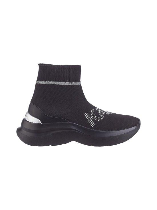 Karl Lagerfeld - Skyline Rhinestone -sneakerit - KOS BLACK KNIT TEXTILE W/SILVER | Stockmann - photo 1