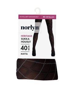 Norlyn - Heritage 40 den -sukkahousut - 1210 BLACK | Stockmann