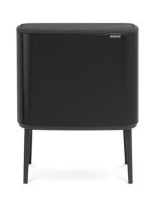 Brabantia - Bo Touch Bin -roska-astia 11 + 23 l - MATT BLACK (MUSTA) | Stockmann