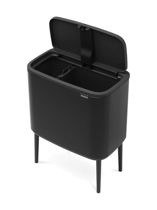 Brabantia - Bo Touch Bin -roska-astia 11 + 23 l - MATT BLACK (MUSTA) | Stockmann - photo 2