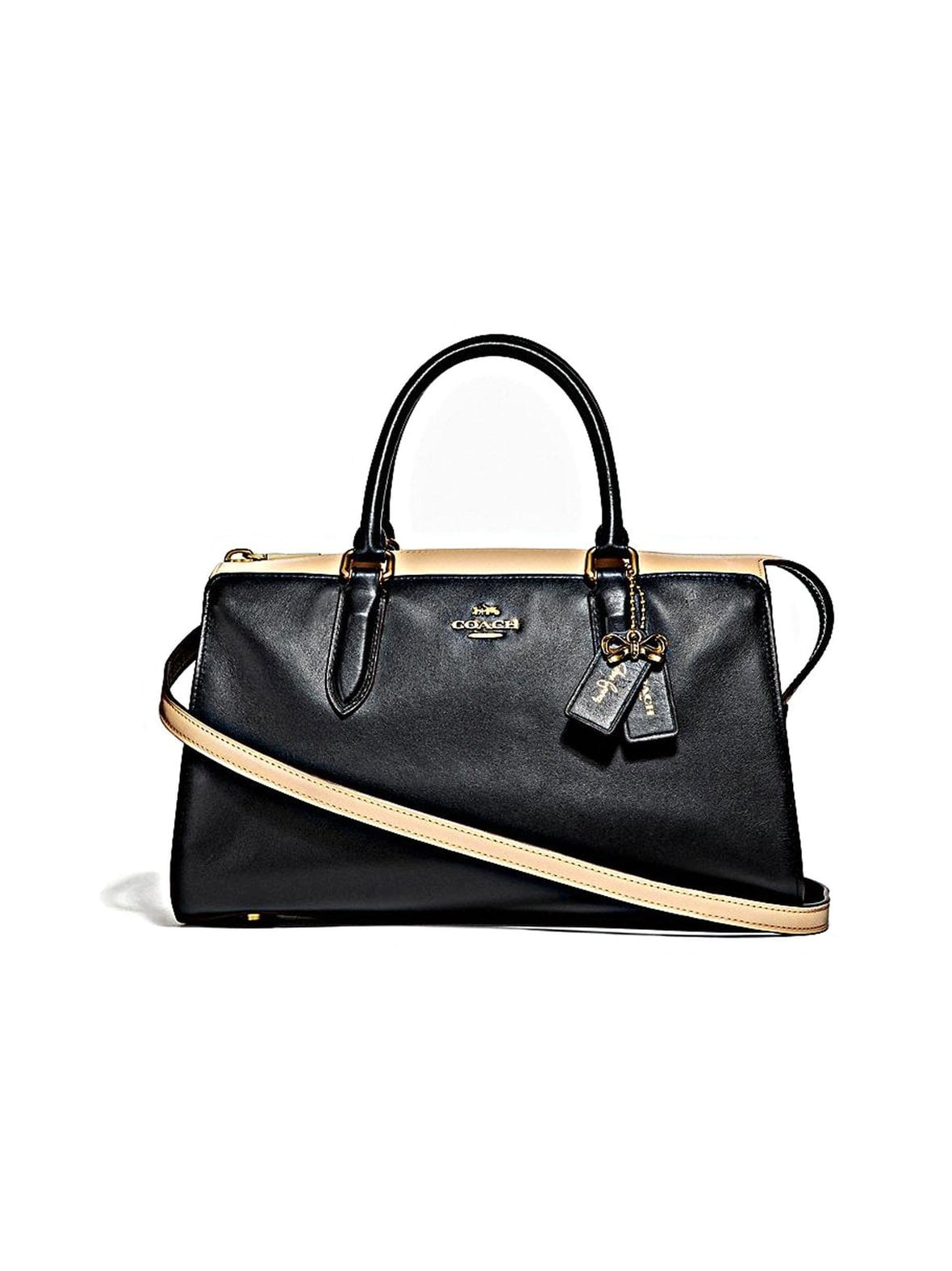 Coach – Selena Bond Bag In Colorblock -nahkalaukku