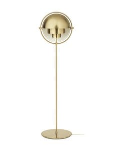 Gubi - Multi-Lite Floor Lamp -lattiavalaisin - SHINY BRASS | Stockmann