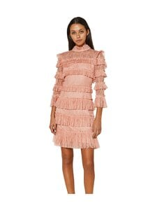 By Malina - Carmine Mini Dress -mekko - CORAL ROSE | Stockmann