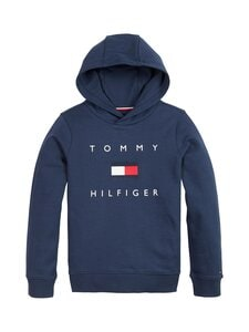 Tommy Hilfiger - TH Logo -huppari - C87 TWILIGHT NAVY | Stockmann