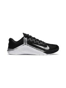 Nike - WMNS NIKE METCON 6 -treenikengät - 010 BLACK/METALLIC SILVER-METALLIC SILVER | Stockmann