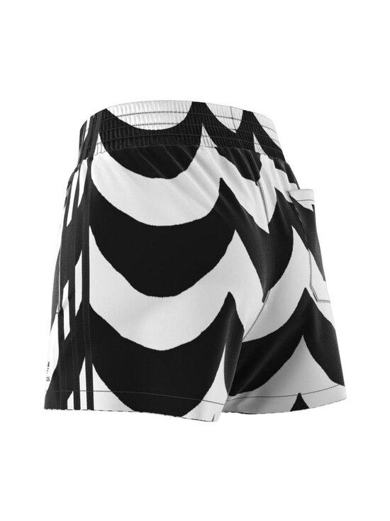 adidas x Marimekko - Short -shortsit - BLACK/WHITE BLACK/WHITE | Stockmann - photo 4