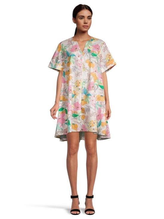 Imperial - AAXTBSY PRINTET DRESS PASTEL COLORS -mekko - 2114 PANNA/ROSA | Stockmann - photo 2