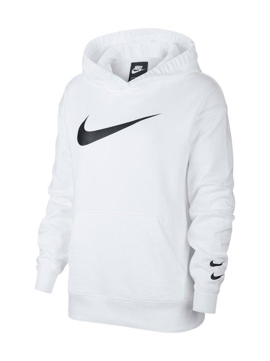 Nike - W Sportswear Swoosh Hoodie -huppari - 100 WHITE/BLACK | Stockmann - photo 1