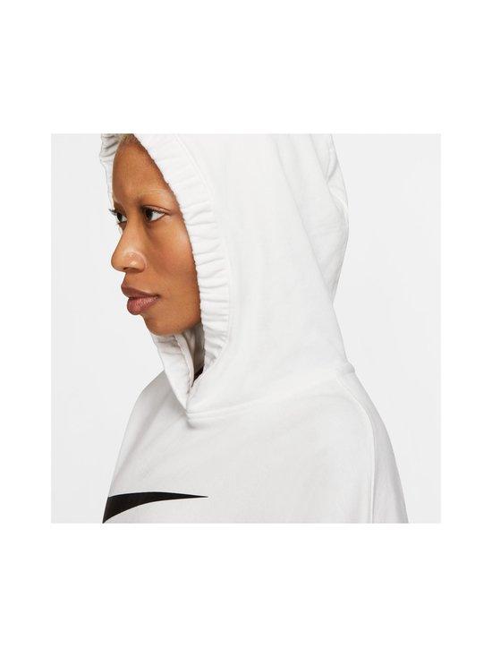 Nike - W Sportswear Swoosh Hoodie -huppari - 100 WHITE/BLACK | Stockmann - photo 6
