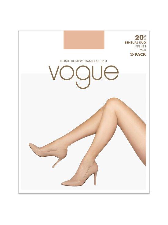 Vogue - Sensual Duo 20 den -sukkahousut 2-pack - 9198+LATTE   Stockmann - photo 1
