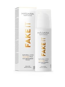 Madara - Natural Look Self-Tan Milk -itseruskettava voide 150 ml | Stockmann