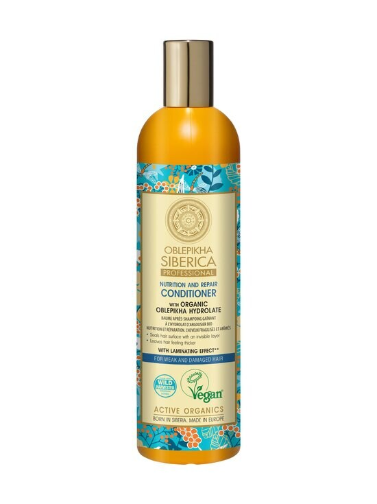 Natura Siberica - Oblepikha Conditioner For Weak and Damaged Hair -hoitoaine 400 ml | Stockmann - photo 1