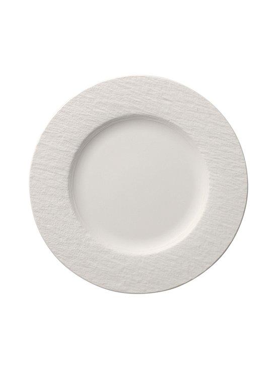 Villeroy & Boch - Manufacture Rock Blanc -lautanen 27 cm - WHITE | Stockmann - photo 1