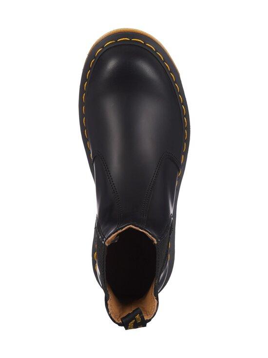 Dr. Martens - 2976 Yellow Stich Chelsea Boot -nahkanilkkurit - BLACK   Stockmann - photo 2