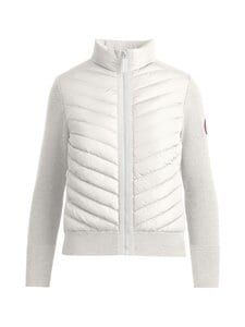 Canada Goose - HyBridge Knit Jacket -takki - 467 COTTONGRASS-LINAIGRETTE | Stockmann