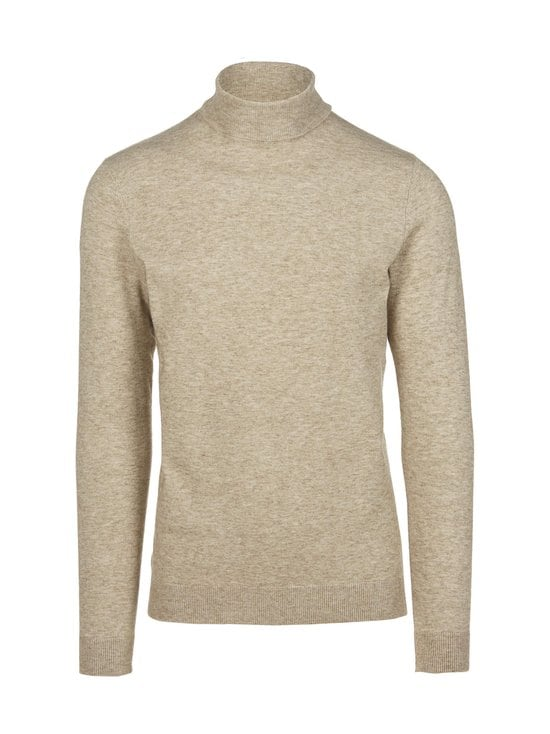 Only & Sons - OnsMikkel 12 Soft Neck Knit -paita - PELICAN | Stockmann - photo 1