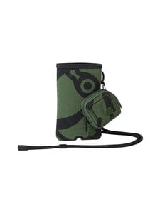 Kenzo - K-Tiger Crossbody Phone and Headphones holder -laukku - 51 DARK KHAKI | Stockmann
