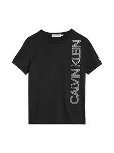 Calvin Klein Kids - Reflective Lines Logo T-Shirt -paita - BEH CK BLACK | Stockmann