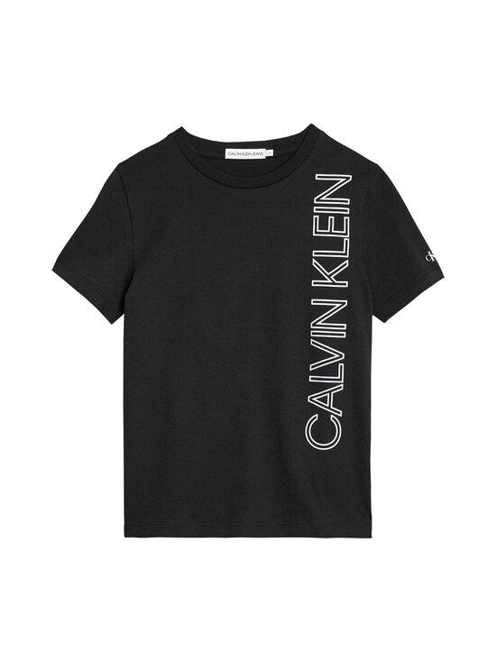 Calvin Klein Kids - Reflective Lines Logo T-Shirt -paita - BEH CK BLACK   Stockmann - photo 1