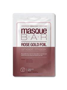 Masque Bar - Rose Gold Foil Sheet Mask -kasvonaamio - null | Stockmann
