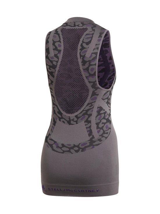 adidas by Stella McCartney - Truepur SL Tank -toppi - GRANIT/BLACK | Stockmann - photo 2