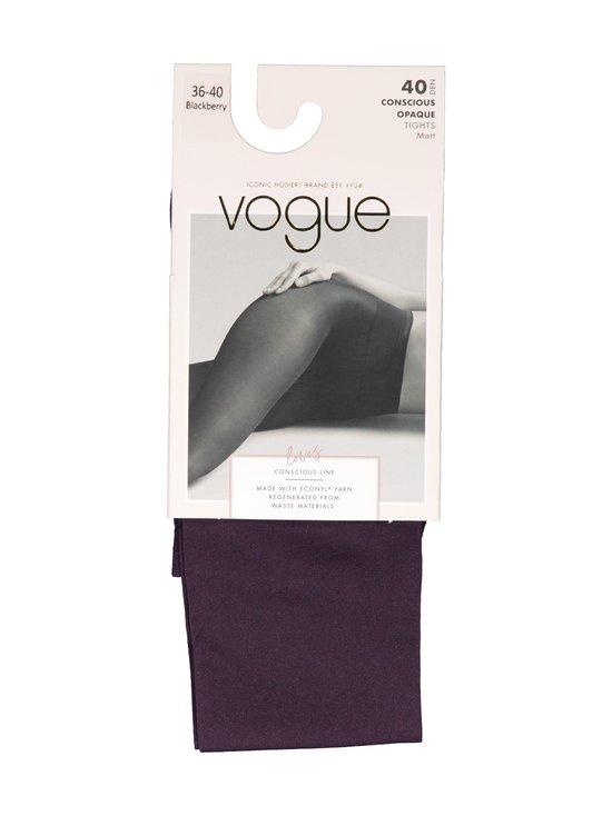 Vogue - Conscious Opaque 40 den -sukkahousut - 8112 BLACKBERRY | Stockmann - photo 1