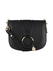 See By Chloe - Hana Shoulder Bag -nahkalaukku - BLACK 001 | Stockmann