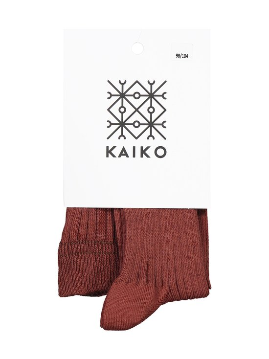 KAIKO - Rib Tights -sukkahousut - MAHOGANY | Stockmann - photo 2