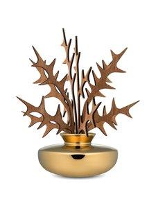 Alessi - The Five Seasons Leaf Fragrance Diffuser Uhhh -huonetuoksu - GOLD | Stockmann