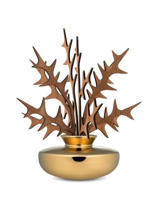 Alessi - The Five Seasons Leaf Fragrance Diffuser Uhhh -huonetuoksu - GOLD   Stockmann - photo 1