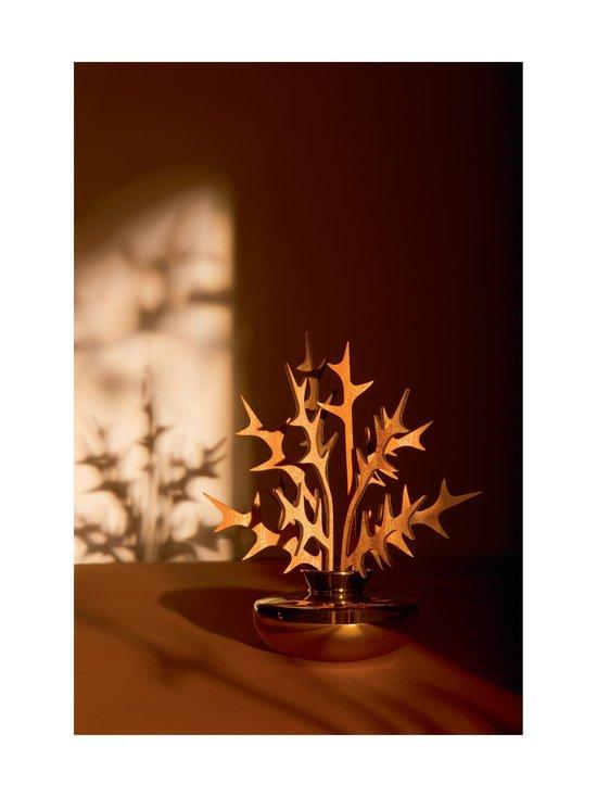 Alessi - The Five Seasons Leaf Fragrance Diffuser Uhhh -huonetuoksu - GOLD   Stockmann - photo 2