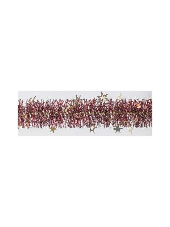 Weiste - Star Tinsel -joulukoriste 90 mm x 2 m - BURGUNDY | Stockmann - photo 1