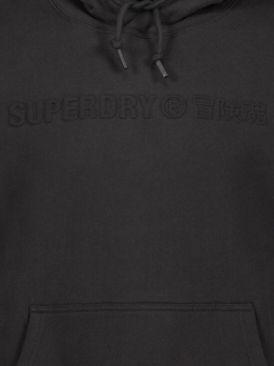 Superdry - Sportstyle Energy Embossed Hood -huppari - 02A BLACK | Stockmann - photo 3
