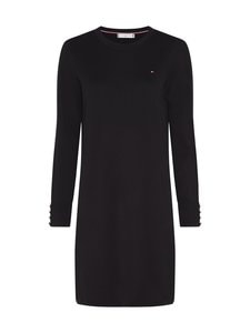 Tommy Hilfiger - Soft Cotton Dress -mekko - BDS BLACK | Stockmann