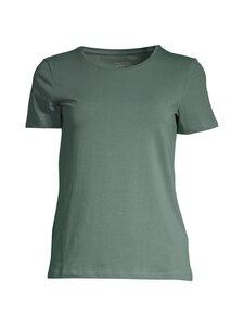 NOOM - Caron t-shirt basic organic cotton -luomupuuvillapaita - SALVIA GREEN | Stockmann